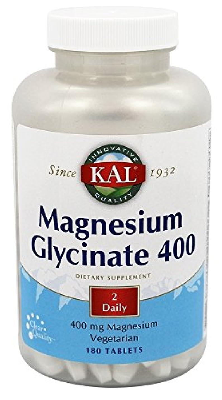 シュリンク軽く対処するKal - マグネシウムグリシネート400 - 180錠剤