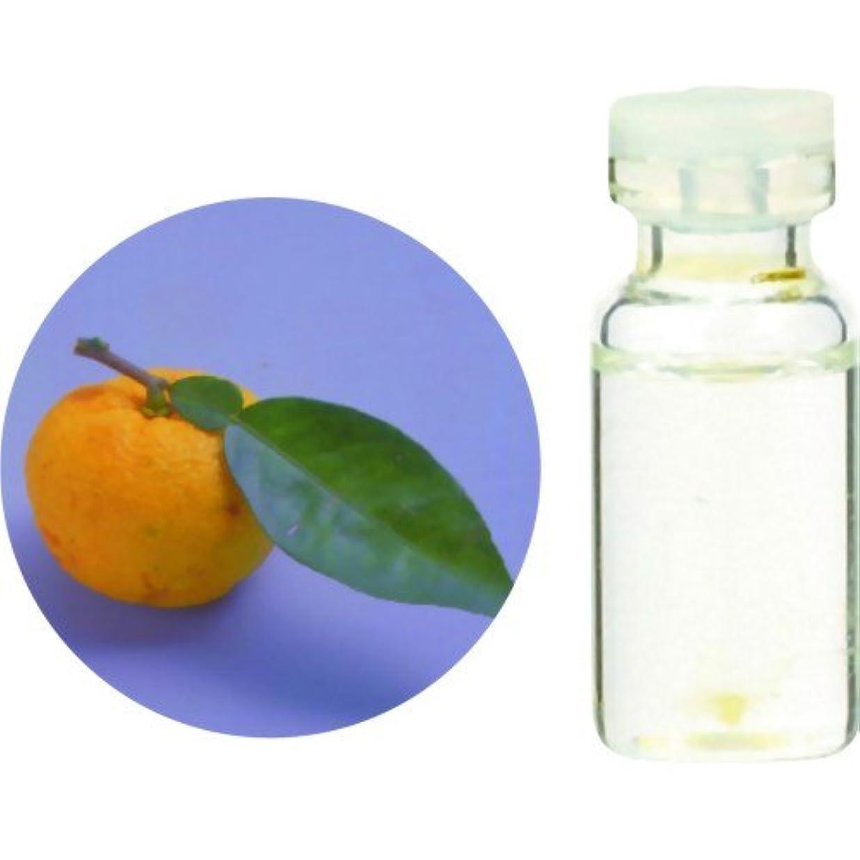 矢印出席洗練生活の木 Herbal Life 和精油 柚子(ゆず)(水蒸気蒸留法) 3ml