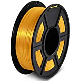 3D Printer PLA+ Silk Filament 1.75mm 1KG/Roll for Creality/ANYCUBIC/Flashforge Fashion3D (Light Gold)