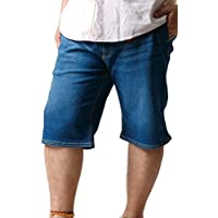 大きいサイズ ショート ハーフパンツ メンズ ズボン ジーパン OUTDOOR アウトドア デニム ストレッチ クライミング 春 夏 秋