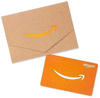 Amazonギフト券 封筒タイプ - バリアブル(ミニサイズ - クラフト)