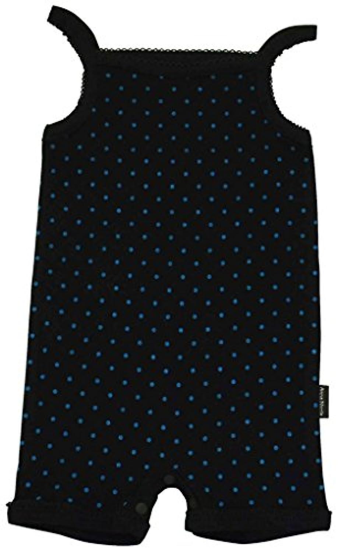 アンナニコラ 水玉柄 キャミソールTオール 70cm ブラック I-14863 B04 日本製