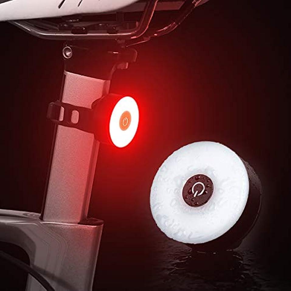 意見操作輸送ziyue セーフティーライト 自転車 IPX5防水USB充電式 5点灯モード50ルーメン ロードバイク リアライト 簡単装着 自転車用ライト 高輝度ledテールライト
