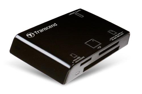 Transcend USBマルチカードリーダー/ライター P8 ブラック TS-RDP8K