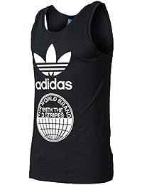 (アディダス)adidas オリジナルストリートグラフィックタンクトップSTREET GRAPH TANK TOP メンズ Tシャツ [並行輸入品]