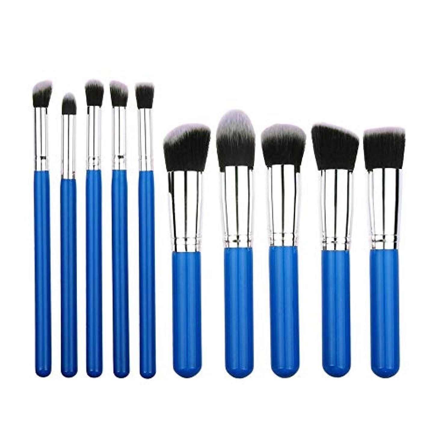 好きである同時ポルトガル語化粧品 メイクブラシセット 化粧品 10本セット 化粧ブラシセット プロ メイクブラシ 人気化粧筆 超柔らかい フェイシャルメイクアップ 化粧品 美容ツール