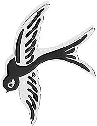 Ruikey ファッション 漫画ブローチ 鳥 ブローチ 動物 ブローチ かわいいブローチ 可愛い おしゃれ アクセサリー プレゼント 贈り物 メンズ レディース 子供 ジュエリー 合金