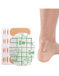 靴擦れ くつずれ防止 靴擦れケアシート 足首保護パッド ヒールブリスター防止 ヒールとガードスキン ブリスターパッド より速い癒しの創傷 30枚入 (30枚入+16枚 ヒールグリップ自己接着ソフト)
