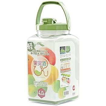 果実酒瓶 S型 4.0L みどり