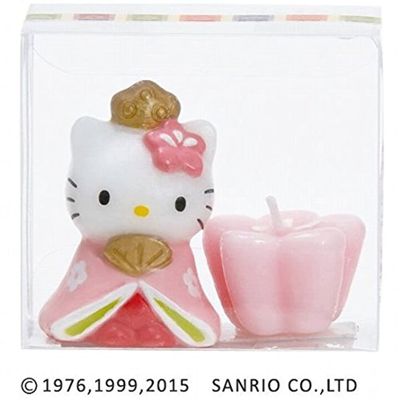 kameyama candle(カメヤマキャンドル) ハローキティひな祭りキャンドル 「 おひなさま 」(56270000)