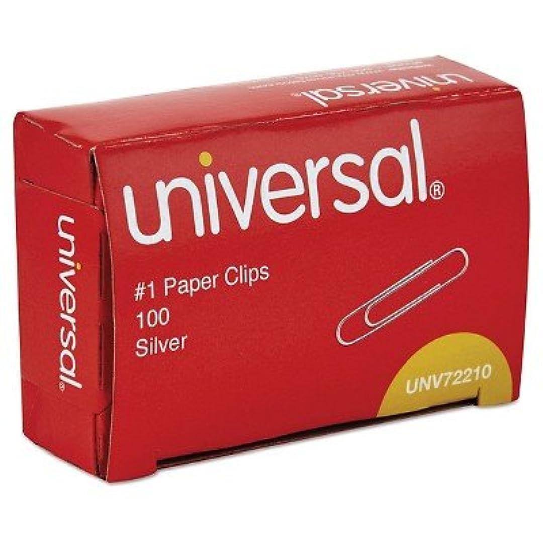相互接続薬理学月曜universal174、ペーパークリップ、1000 ctシルバー