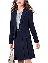 (ニッセン) nissen スーツ 上下 セットアップ ジャケット スカート 洗える オフィス ビジネス レディース