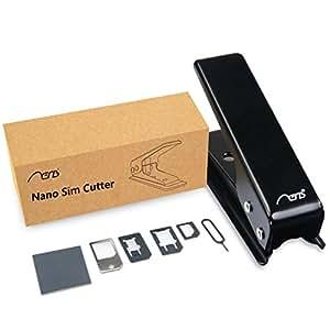 Aerb SIMカードカッター SIM変換アダプター+金属トレイ+磨き紙
