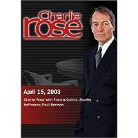 Charlie Rose (April 15, 2003) [並行輸入品]