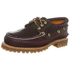 Timberland Classic 3-Eye Lug: 50009 Burgundy Pull Up