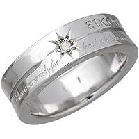 KEN BLOOD ケンブラッド シルバー リング 指輪 レディース ダイヤモンド メッセージ 7~23号 KR-205L