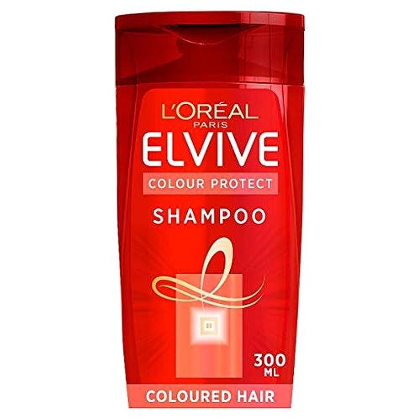 とフレット自分を引き上げる[Elvive] ロレアルのElviveの色は色の髪のシャンプー300ミリリットルを保護します - L'oreal Elvive Colour Protect Coloured Hair Shampoo 300Ml [並行輸入品]