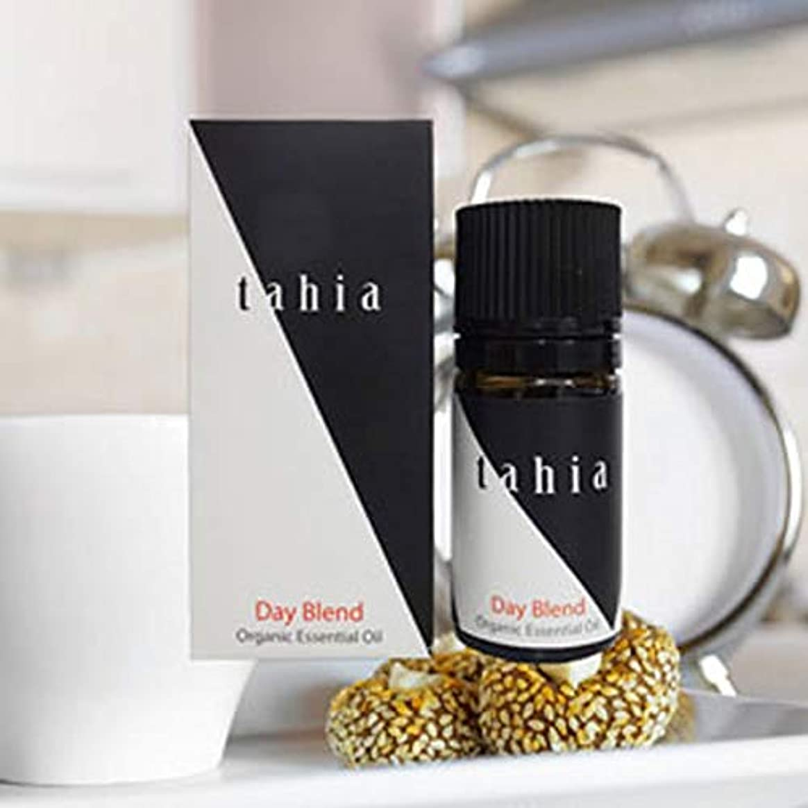 時間守る安西タツフト タヒア tahia デイブレンド  エッセンシャルオイル オーガニック 芳香 精油