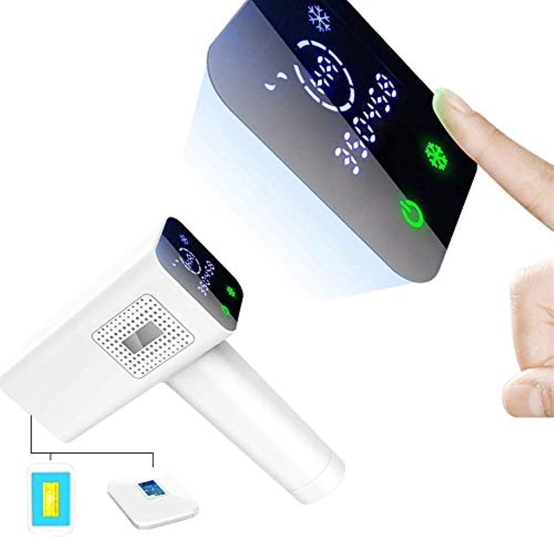 細心の明確なタンザニアHSBAIS 光脱毛装置、常設 脱毛システム LCDスクリーン付き レーザー脱毛器 ビキニライン/足/腕/脇の下,White