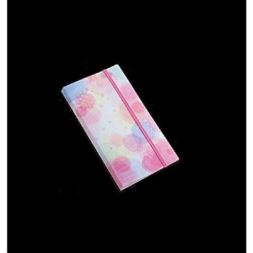 シール収納ファイル 20ポケット 水彩デザイン [色柄指定不可]