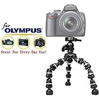 """Pro 13"""" Heavy Duty Flexipod for Olympus c-5050ズーム、c-5060Wideズーム、c-7070Wide Zoom、c-750UZ、c-8080Wideズームカメラ、13インチtri-pod W /クイックリリース"""
