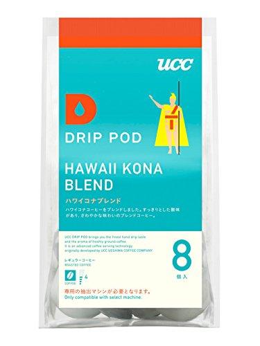 UCC ドリップポッド ハワイ コナブレンド コーヒー 8個