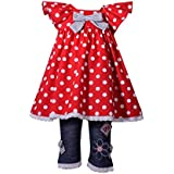 Bonnie Jean Baby Girls 4th of July Outfit, Americana Nautical Red White and Blue