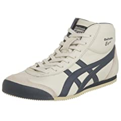 Onitsuka Tiger Mexico Mid Runner: Birch / Indian Ink