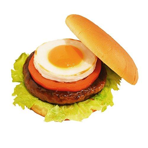 食品サンプル 店舗展示用 照焼月見バーガー インテリア オブジェ