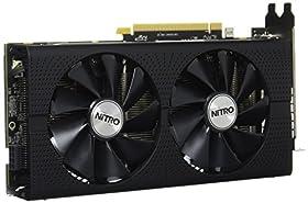 Sapphire NITRO+ RADEON RX 480 8G GDDR5 DUAL HDMI / DVI-D / DUAL DP VD6105 SA-RX480-8GD5N001