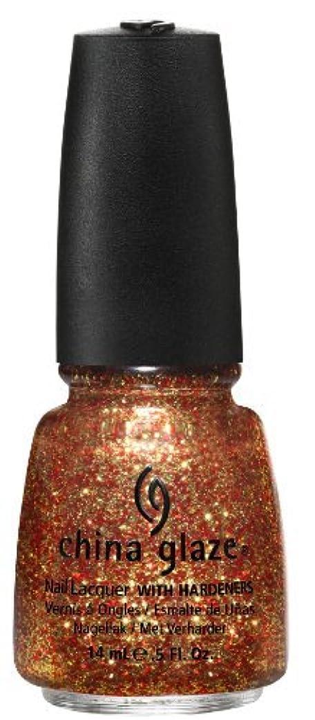 ナプキン旋回エスカレートChina Glaze Nail Lacquer, Electrify, 0.5 Fluid Ounce by China Glaze [並行輸入品]