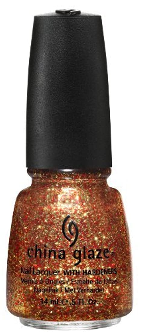サービス郵便屋さんグリットChina Glaze Nail Lacquer, Electrify, 0.5 Fluid Ounce by China Glaze [並行輸入品]