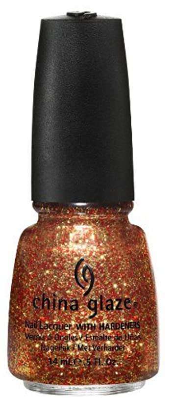 男らしさ顕現軍隊China Glaze Nail Lacquer, Electrify, 0.5 Fluid Ounce by China Glaze [並行輸入品]