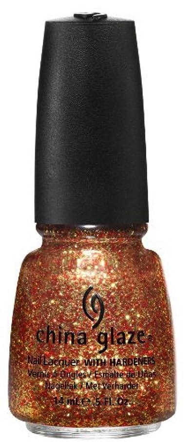 年金オーブンフェデレーションChina Glaze Nail Lacquer, Electrify, 0.5 Fluid Ounce by China Glaze [並行輸入品]