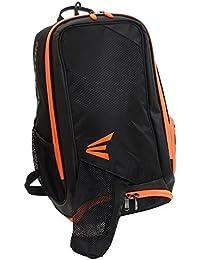 EASTON(イーストン) 少年野球用 バッグパック バット用収納ポケット付 E200 JPB E200JPBOR ブラック/オレンジ