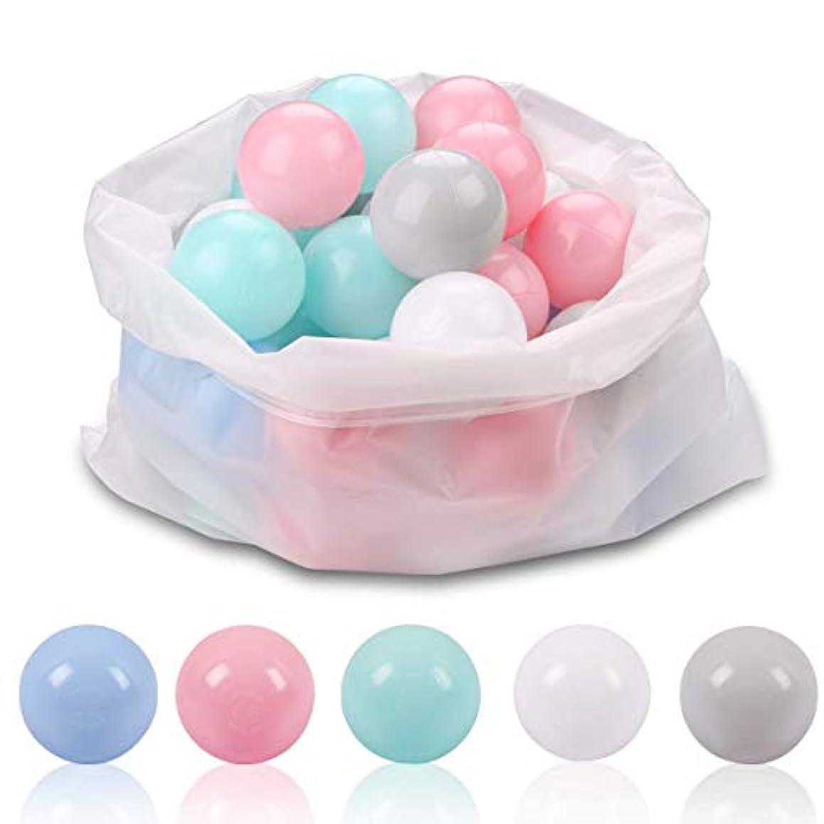 過ち航空便不愉快Flowear 子供用ボールピットボール – 子供用プラスチックおもちゃボール – 赤ちゃんや幼児のボールピット 50個