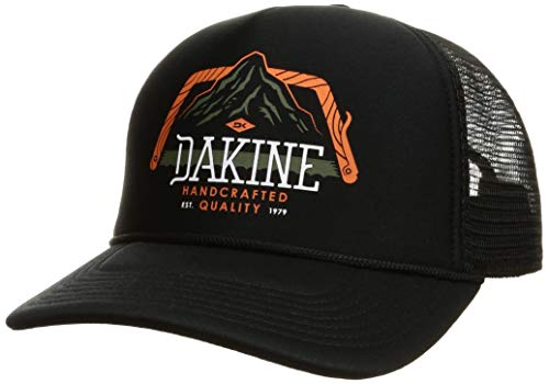 [ダカイン] [ユニセックス] メッシュキャップ (サイズ調整可能)[ AJ231-909 / SAW TOOTH TRUCKER CAP ] おしゃれ 帽子 BLK_ブラック US F (FREE サイズ)