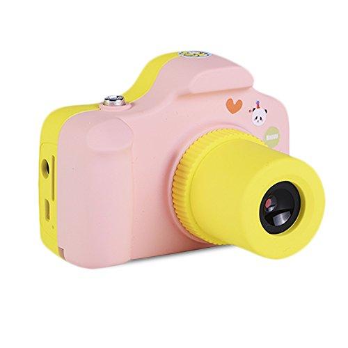 IFLYING YT001 キッズ用デジタルカメラ ミニ1.5インチスクリーン 子供用デジカメ (ピ...