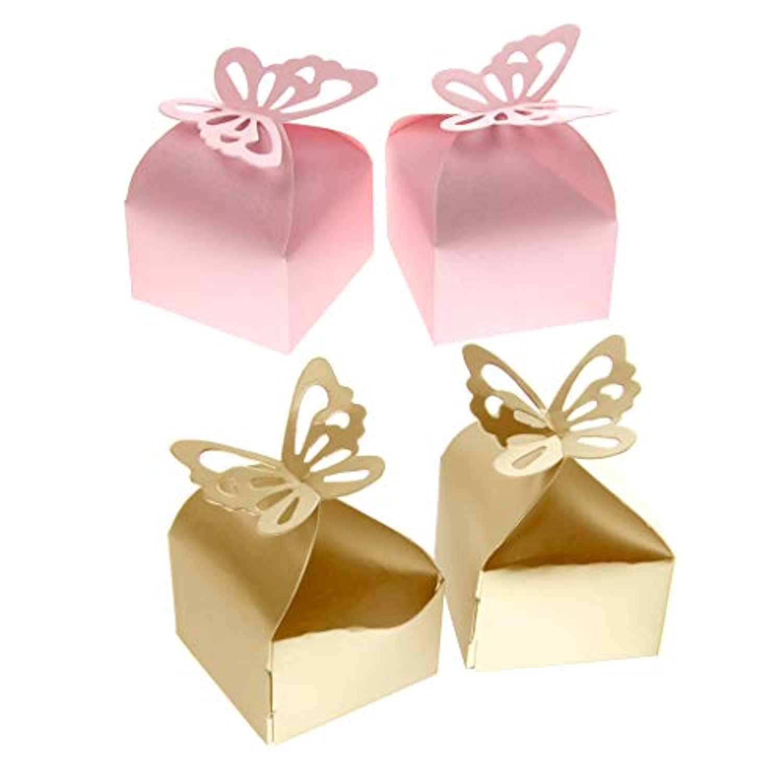 Baoblaze 約100個 キャンデーボックス ギフトボックス ベビーシャワー  結婚式 プレゼント