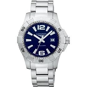 LONGINES (ロンジン) 腕時計 HYDROCONQUEST ハイドロコンクェスト ブルー L3.647.4.96.6 [並行輸入品] メンズ