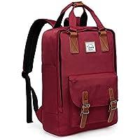 Backpack for Teen Girls,VASCHY Vintage Laptop Backpack Water-Resistant School Backpack