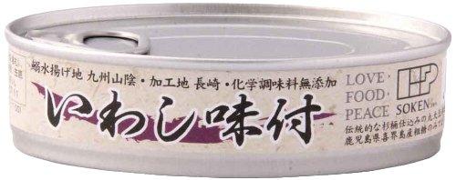 創健社 いわし味付 100g×6缶
