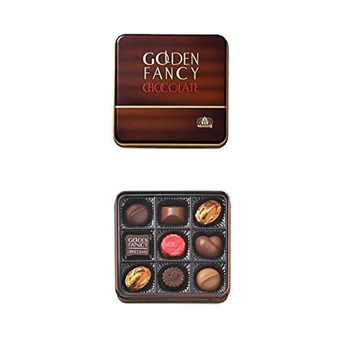 モロゾフ ゴールデンファンシーチョコレート 9個入 MO-0121