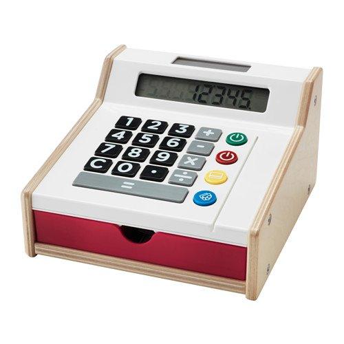 RoomClip商品情報 - IKEA DUKTIG(ドゥクティグ) 60256502 レジ おもちゃのお金とクレジットカード付き