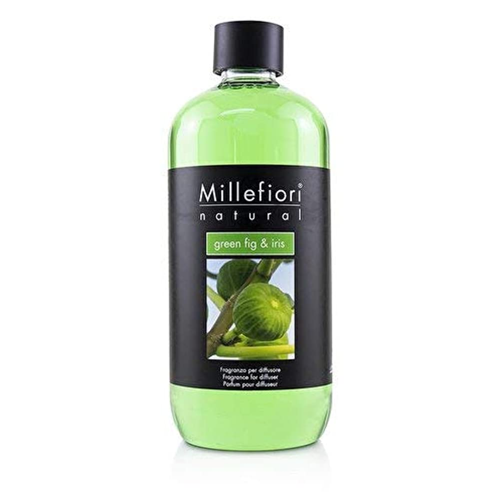 ペース深遠剥ぎ取るミッレフィオーリ Natural Fragrance Diffuser Refill - Green Fig & Iris 500ml/16.9oz並行輸入品