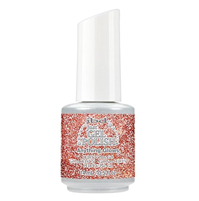 スラッシュプロフェッショナル回転するibd Just Gel Polish - Diamonds+Dreams Collection - Anything Glows - 14 mL / 0.5 oz