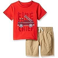 Kids Headquarters Boys' Toddler 2 Pieces Shorts Set