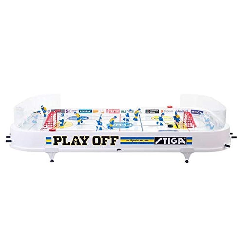 花弁運動配送子供用テーブルホッケー屋内サッカースポーツ玩具二重インタラクティブ玩具両親と子供のビリヤードゲームパズルボードゲームのおもちゃ子供の知的発達玩具 (Color : WHITE, Size : 50*94*4.6CM)