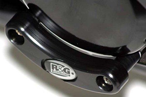 R&G(アールアンドジー) エンジンケーススライダー ブラック GSX1300R HAYABUSA[ハヤブサ] (08-12) B-KING [ビーキング](07-11) RG-ECS0008BK