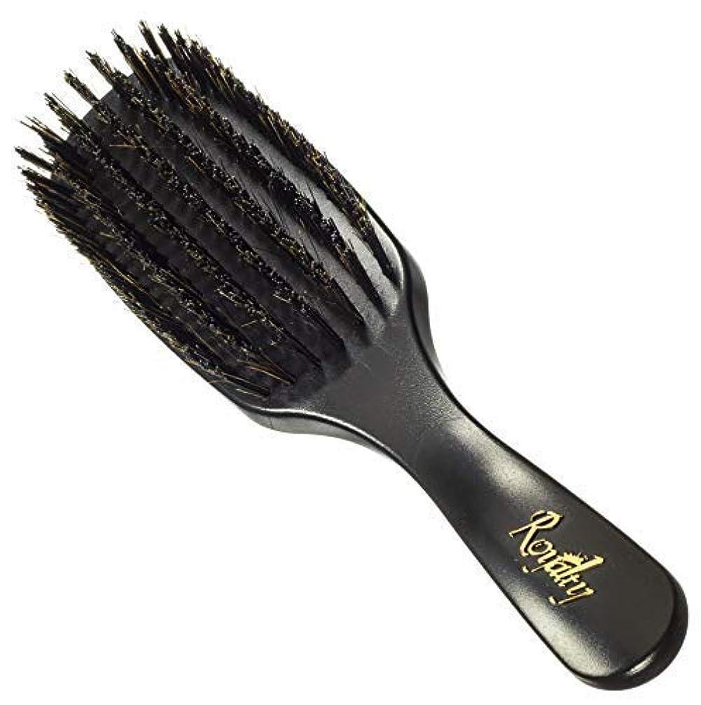ヒューマニスティック分注する浸すRoyalty Shower Wave Brush #726-7 row hard waves brush for wash and styles and shower brushing- Not for fresh cuts - For 360 waves [並行輸入品]